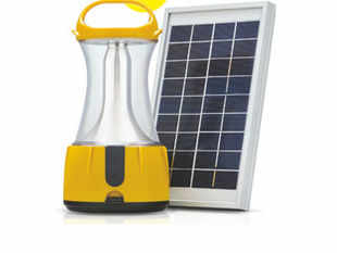 L&T has developed a solar-powered portable lantern DVA. When fully charged, it is capable of emitting light for up to 10 hours.