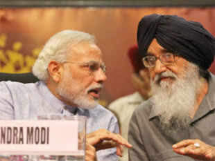 Badal said that the state would get more funds and centrally-sponsored projects for its overall development if BJP's Narendra Modi became Prime Minister.