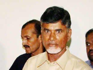 During the meeting Naidu wanted to raise the issue of Telangana and bring Central government's attention to the continuous protests in Seemandhra.