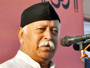 "Bhagwat said that accession of Jammu and Kashmir to India was irrevocable and launched a veiled attack at Omar for telling a European delegation that the accession was on four matters and the state had ""only acceded and not merged"""