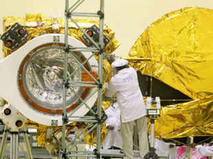 The Rs 450 crore Mars Orbiter Mission (MOM), scheduled for lift-off at 4.15pm on October 28, could be without Nasa's communication and navigation support.