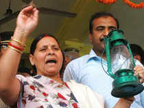 """Rabri Devi said she hoped the CBI would be fair in its probe against Nitish Kumar, who 'is involved in the fodder scam and had accepted Rs 1 crore,"""""""