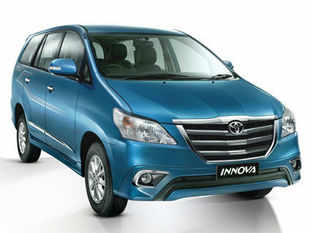The new Innova comes with a marginal price hike of Rs 10,000 to Rs 15,000, and sports a new front grille, and chrome lined fog lamps among other features.