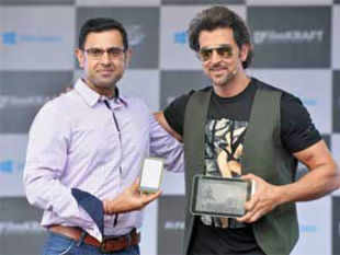Microsoft today launched official 'Krrish 3' game which would be available on Windows tablets smartphones, and laptops.