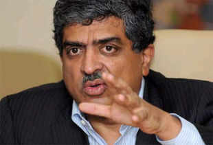 Nilekani did not comment on the Supreme Court's interim ruling which announced Aadhar number as a non-compulsory ID.
