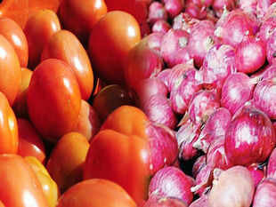 Tomatoes are expensive mainly due to tight supplies from Madhya Pradesh and Maharashtra and other major green vegetables are ruling in the range of Rs 35-90 per kg.
