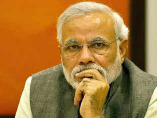 """Such a big incident had taken place in Patna....and the people in the govt there were having sumptuous meals,"" Modi said."