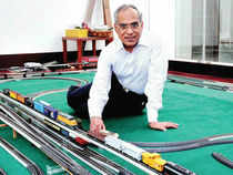 Since making his first model train in 1977, Narayanan has made 30 such sets, spending over Rs 10 lakh, and not even his close colleagues know about it.