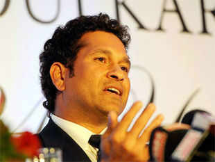 """To cricket lovers like me the image of Sachin on the field--- graceful, focused and ever submissive to the Almighty in every triumphant moment will stay for ever,"" said Dilip Kumar."
