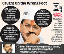 AAP stung by standards it set; Kejriwal promises action