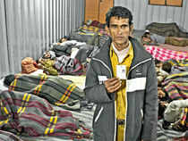 Delhi, which boasts near-double digit economic growth, has almost half of the population living in slums, and over a couple of lakhs homeless
