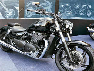 While the Bonneville is the lowest priced at Rs 5.7 lakh, the costliest bike from the Triumph stable in India will be the Rocket III Roadster tagged at Rs 20 lakh.