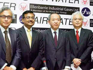 Japanese industrial gas maker Air Water Inc has invested around Rs 100 crore, or 1.8 billion Yen, in West Bengal.