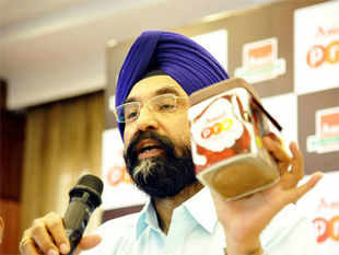 "Amul's on a roll these days, with the Indian dairy industry going through what Sodhi calls a ""golden phase"""