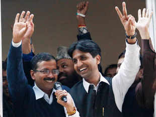 Kejriwal's victory has rekindled memories of George Fernandes' 1967 feat when he defeated Congress strongman S K Patil in Mumbai in his electoral debut. (BCCL)