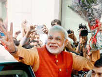 Sunday's impressive win in the three states and a near-win in Delhi has worked as a big morale-booster for BJP before the Lok Sabha elections.