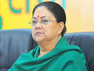 Addressing the party MLAs, Raje asked them to prepare development plans for their constituencies so that works could be started soon after the government formation.