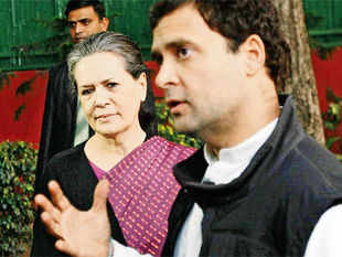 Sunday saw Rahul allowing his mother to take the lead, unlike when he owned up responsibility for the Uttar Pradesh debacle in 2012.