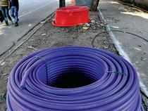 The company had sought approvals and sanctions which seemed to indicate it planned to lay 100 km of fibre each day.