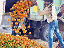Orange is selling at Rs40 per kg whereas banana, the commoner's fruit, is selling at Rs50-60 per kg, while apple is priced double that of orange.