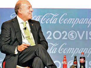 'Coca-Cola has been able to stay relevant because its values are timeless. That doesn't mean we can just sit back and watch it.'