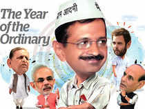 In politics and national affairs, 2013 was the year of the aam aadmi prevailing over the privileged and the established.