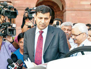 Reserve Bank of India governor Raghuram Rajan for the second time in a month has raised the issue of how the outcome of general elections is the latest threat to economy.