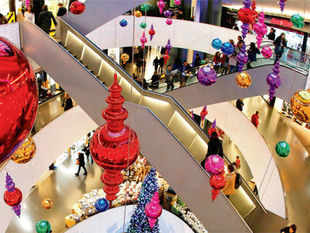 The survey pegs mall space occupancy in the city in Q3 at 95% and says that it may go up by another 440,000 square feet in the coming months.