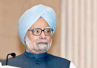 "Dismissing charges of being a weak PM, Singh said that India does not need a PM for whom strength means presiding ""over a mass massacre of innocent citizens""."
