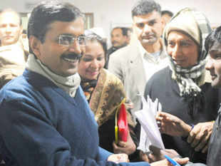 The anti-corruption helpline launched by Delhi CM Arvind Kejriwal on Wednesday was flooded with calls within the first few hours of its operation.