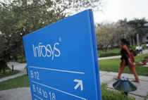 Infosys, the country's second-largest software services provider, raised its full-year sales forecast to meet industry growth estimates.