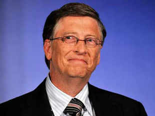 Bill Gates has been named as the most admired person on the planet with Sachin fifth on a list of 30 people compiled after a poll in 13 countries.