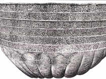 """Two Indianarchaeologistsare being sent to Kabul to study a """"begging bowl"""" thought to have been used by Buddha."""