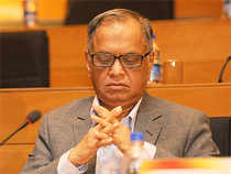Infosys is currently trading at a price-earnings ratio of 17 times compared with 19.50 times for TCS for FY2015. At the time Murthy came back on board, Infy was at 14 times compared with TCS's 21 times.