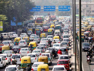 Heavy traffic jams were witnessed on arterial roads on which vehicles were diverted. Commuters had to wait for more than 15 minutes to cross a 500 meters stretch on Sikander road