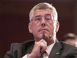 The company shares the grief of Karl Slym's wife and family at their irreparable loss, Tata Motors said in a statement.