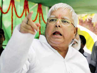 "Lalu today met Rahul for the second time this month amid indications that RJD and Congress were working out the nitty-gritty of forging a ""secular alliance"" in Bihar"