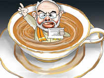 Starting in the first week of Feb, BJP leaders as well as the party's heavyweight CMs will start frequenting tea stalls to discuss politics with locals.