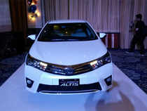 Of particular importance to the Indian market is the new 2014 Corolla Altis and the Etios Cross.