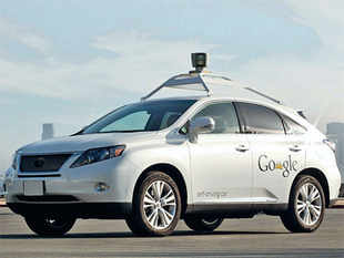 Google is testing driverless cars in California with almost a quarter million dollars of computers loaded in the car.