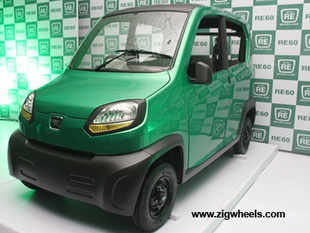 Mahindra & Mahindra with interests in utility vehicles, tractors, trucks and micro-trucks is developing a quadricycle to take on Bajaj's RE60.
