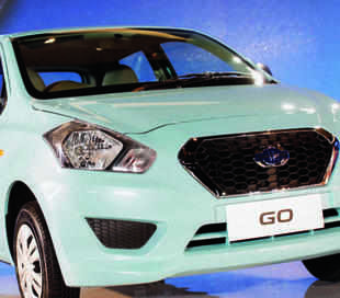 Nissan Rolls Out 39 Datsun Go 39 From Chennai Plant The