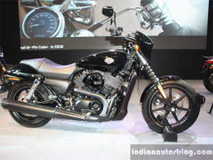 new car launches at auto expo 2014Auto Expo 2014 HarleyDavidson launches Street 750 bike at Rs 41