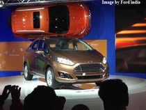 "Commenting on the new Fiesta, Ford India Executive Director, Marketing (Sales and Services) Vinay Pipersania said it will hit the market later this year. ""The 2014 Ford Fiesta takes our strongest global name plate to the next level,"" he added."