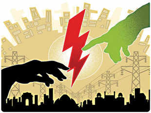 The accumulated losses of discoms, estimated at Rs 1.9 lakh crore in March 2011, are due to inadequate tariff revisions and non-payment of subsidies by the states.