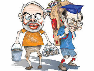 Whether it is hard work or Harvard, the hard facts make any hard sell from either side, Modi's or Chidambaram's, hard to swallow.