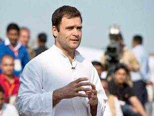 Rahulsaid Congress believed the nation would thrive if people were empowered, whileBJPbelieved it would happen with empowerment of an individual.