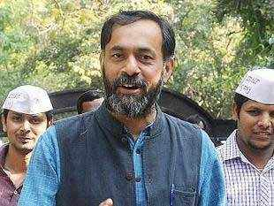 In a letter written to party chief Arvind Kejriwal, Kuldeep Jhanghu, has alleged that Yadav's selection was without following due procedure.