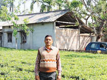 Dipen Roy, 42, is one such small tea producer. He's just shifted from a thatched mud home in Singhibari in Jalpaiguri district to a pucca house.
