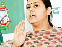 Misa Bharti, daughter of former Bihar CMs Lalu Prasad and Rabri Devi, is making her political debut by contesting from Patliputra.